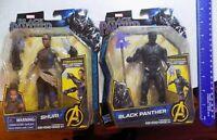 Hasbro Marvel Black Panther Shuri Movie Figures Lot of 2 Same Day Ship FREE