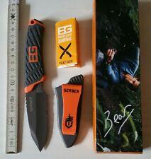 Gerber Bear Grylls Messer Compact mit Kombiklinge , full tang GE31-001066