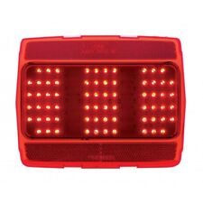 LED Tail Light with Red Lens for 1964 1/2 - 1966 Ford Mustang