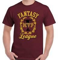 Fantasy League Funny Baseball Football Gamer Mens T-Shirts T Shirts Tees Tshirt