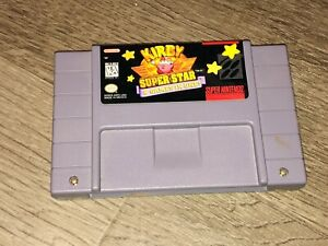 Kirby Super Star Super Nintendo Snes Cleaned & Tested Authentic