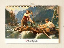 Wildererkalender ewiges Kalendarium Ringeisen Müller Weltneuheit 12 Motive