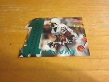 Ki-Jana Carter 1995 Classic NFL Rookies Die Cuts Silver Signatures #1 Bengals