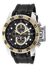 Invicta I-Force Хронограф черный углеродного волокна полиуретановый мужские часы 19253