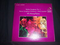 RCA/Victor LSC-2809 Erich Leinsdorf & The Boston Sym Orch Brahms Symphony No. 2