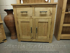 RECLAIMED 2 DOOR 2 DRAWER SIDEBOARD HAND MADE RUSTIC BESPOKE SIZES COLOURS