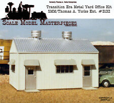1950's Transition Era Pre-Fab Metal Yard Office Kit Fine Scale Craftsman HO/1;87