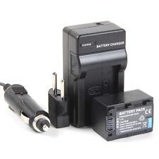 Cargador + Batería NP-FH70 1800mAh Sony DCR-DVD105 DCR-DVD105E DCR-DVD106E