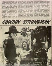 Captain Marvel - Cowboy Strongman Tom Tyler + Markowski,Desmond,Coghlan,Currie
