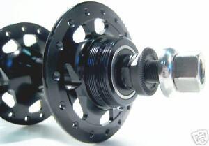 FORMULA TH-51 BLACK 36h REAR Track Fixed Gear Bike Hub Sealed Cartridge FlipFlop