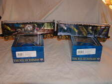 Lionel 6-83645 The Polar Express Box Car 2 pack MIB O 027 2016 New Bell & Ticket
