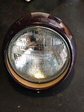 EXCELLENT Rare Purple ORIGINAL GENUINE PORSCHE 911 912 930 Headlight