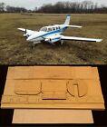 "70.5""Ws Beechcraft Baron 58P Rc Plane short kit-partial kit & plans, PLEASE READ"