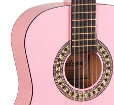 Falcon FL34PK 3/4 Size Classic Guitar Pink Student beginner Ligfht Weight