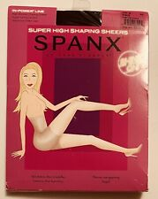 Spanx In-Power Line Super High Shaping Sheers Black Shapewear Pantyhose G 914