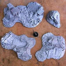 Paisaje LOTR - 4 X ruinas hecho a mano (Lote 1) - Osgiliath/Gondor terreno 28mm