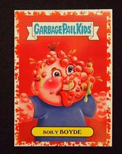 Garbage Pail Kids 2017 Adam-Geddon Red Bloody Nose Boarder Boily Boyde 7a /75