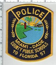 Miami-Dade County Public Schools Police (Florida) Shoulder Patch from the 1980's