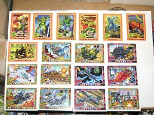 1991 GI JOE SERIES 1 COMPLETE BASE 200 CARD SET Impel Hasbro! COBRA!