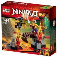 LEGO Ninjago 70753 Lava Faelle Magma Bridge Cole Sleven
