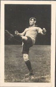 Gem Library - Footballers Autographed Real Action Photo Series - 6 - J McDonald