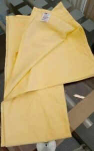 Cot Sheet Cot Bed Mothercare Yellow Flat 120cm x 170cm 100% Cotton Brand New