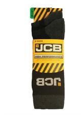 JCB 2PK HIGH PERFORMANCE ODOUR FREE SOCKS SIZE 6-8.5 (BLACK) JCBX000015