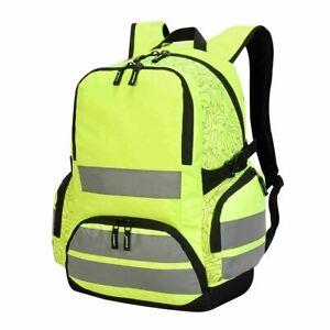 Shugon London Pro Hi Vis Backpack Work Viz Bag Reflector Rucksack Laptop(SH7702)
