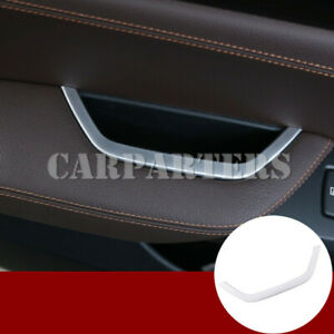 For BMW X3 F25 ABS Inner Driver's Door Armrest Storage Box Frame Cover 2011-2017