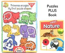 Animals Mother & Baby Puzzles My First Puzzle Shapes PLUS First Nature BoardBook