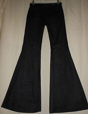 "7 For All Mankind USA 26 Dark Denim 27"" Bell Bottom Jeans 26X34 New Boho Hippie"