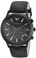 Emporio Armani Men's AR2461 Sportivo Chronograph Black Watch