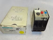 SIEMENS 3UA5200-1D OVERLOAD PROTECTION RELAY