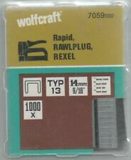 Wolfcraft Clip Type 013, 14 mm, Pack 1000 Piece