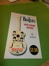 THE BEATLES New Guitar Sound POSTER New! 11x17 Advertisement