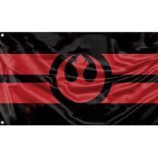 Rebel Alliance, Star Wars Flag 2 Unique Design, 3x5 Ft / 90x150 cm size, EU Made