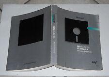 Microsoft MS-DOS 5.0 ITALIANA Manuale dell'utente Versione 5.0 - 1 ed 1991 Intel