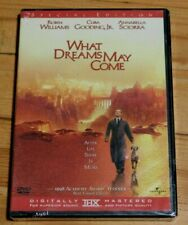 New Sealed What Dreams May Come Robin Williams Cuba Gooding Jr Movie Dvd