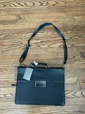 New With Tags Black Leather Calvin Klein Briefcase