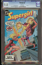 Supergirl #23 (CGC 9.8 White) 1984 Copper Age / Harder to find final Issue 1982