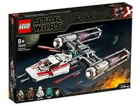 LEGO STAR WARS RESISTANCE 75249 Y-WING STARFIGHTER SET - POE D-O ZORII - BNIB
