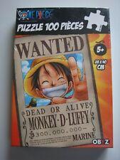 Puzzle 100 pièces 28X40 cm One Piece neuf boite Obyz  Toei