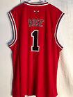 Adidas NBA Jersey Chicago Bulls Derrick Rose Red sz XL