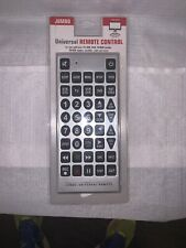 GIANT JUMBO UNIVERSAL REMOTE TV VCR DVD CABLE CONTROL  FACTORY SEALED