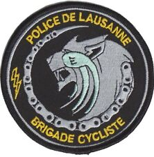 LAUSANNE (SWITZERLAND) Police patch (CYCLE UNIT)