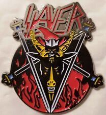 SLAYER - Flames lapel pin - FREE SHIPPING