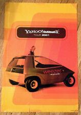 Weezer get up kids yahoo! outloud tour 2001 promo concert poster Rare 13x19.5