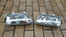 SET Headlights GLASS edm +LRC Honda CRX ED9 CIVIC ED7 ED6 SI DX 88-92 **rare**
