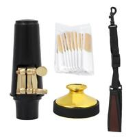 4 in 1 Alto Saxophone Accessories Set with Reeds Mute Mouthpiece Cap Neck Strap