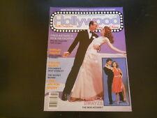 Shirley Temple, Patrick Swayze, Fred Astaire-Hollywood Then & Now Magazine 1988